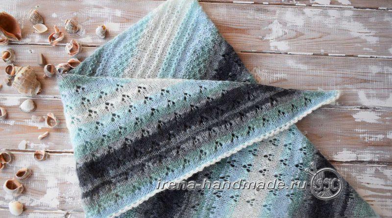 Скандинавский платок «Морской бриз» - основное фото