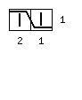 Узор «Мускат» с раппортом 16 петель - обозначение - 2 влево