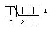 Узор «Мускат» с раппортом 16 петель - обозначение 3 влево