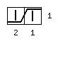 Варежки «Мускат» с индийским клином - обозначение 2 вправо