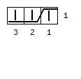 Варежки «Мускат» с индийским клином - обозначение 3 вправо