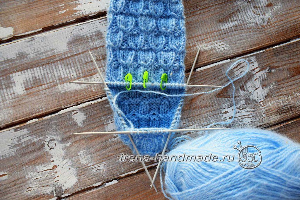 Классические носки с прямой пяткой «Крещенские» - добор