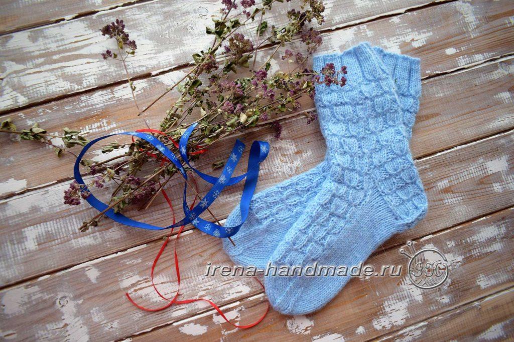 Классические носки с прямой пяткой «Крещенские» - главная 2