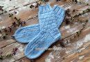 Классические носки с прямой пяткой «Крещенские» - начало 5