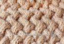 Узор «плетенка» из жгутов - основное фото