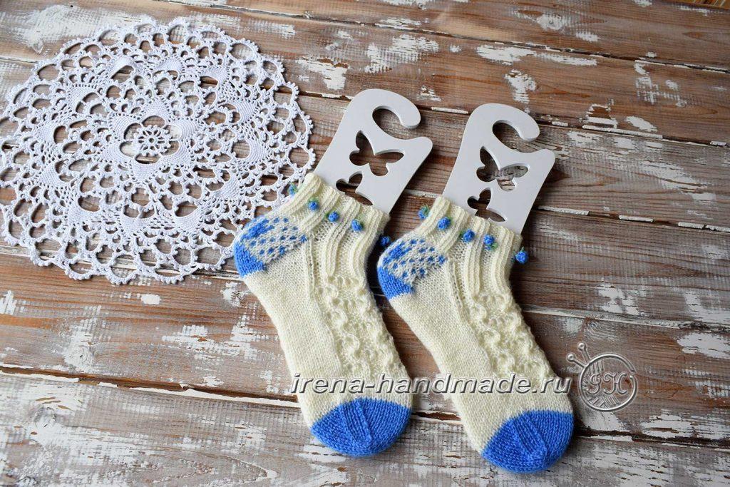Ажурные носки «Ипомея» - итог