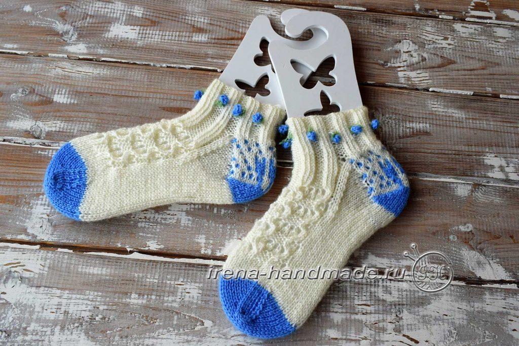 Ажурные носки «Ипомея» - основное фото