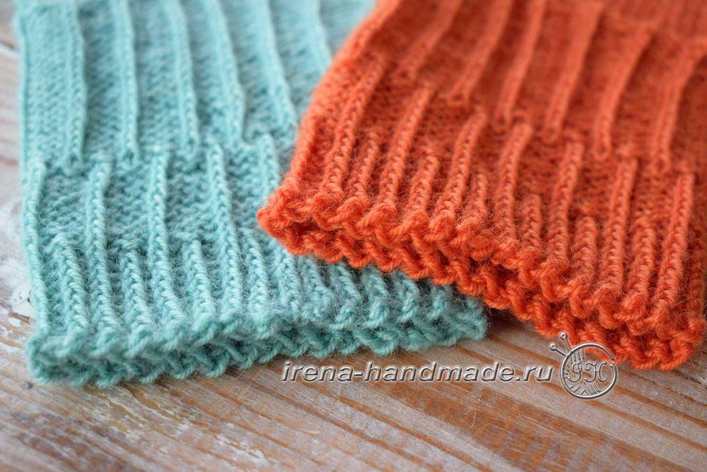 Носки со спиральной пяткой «Кантри» - манжета