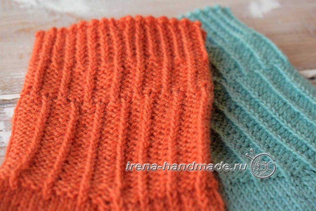 Носки со спиральной пяткой «Кантри» - манжета 2