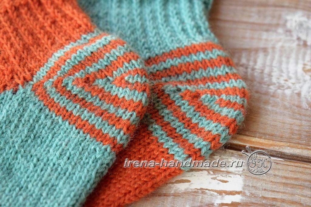 Носки со спиральной пяткой «Кантри» - пятка
