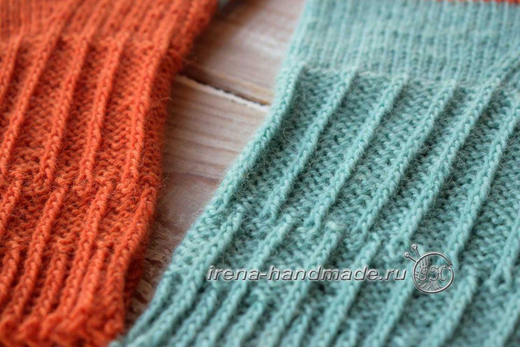 Носки со спиральной пяткой «Кантри» - резинка