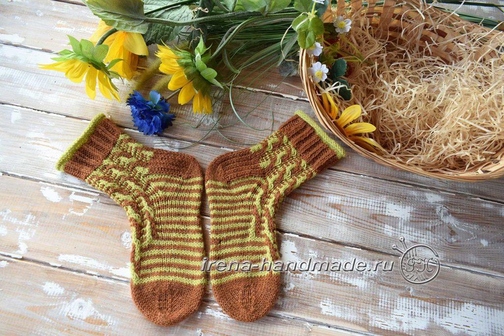 Носки «Задорные жирафики» - пятка 2
