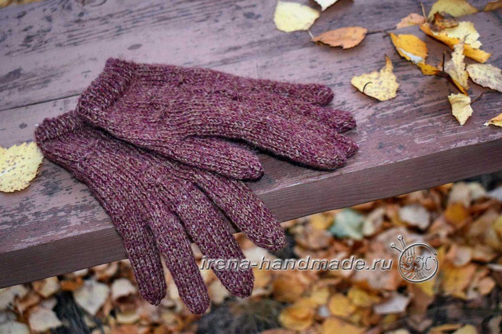 Как связать перчатки - фото в саду