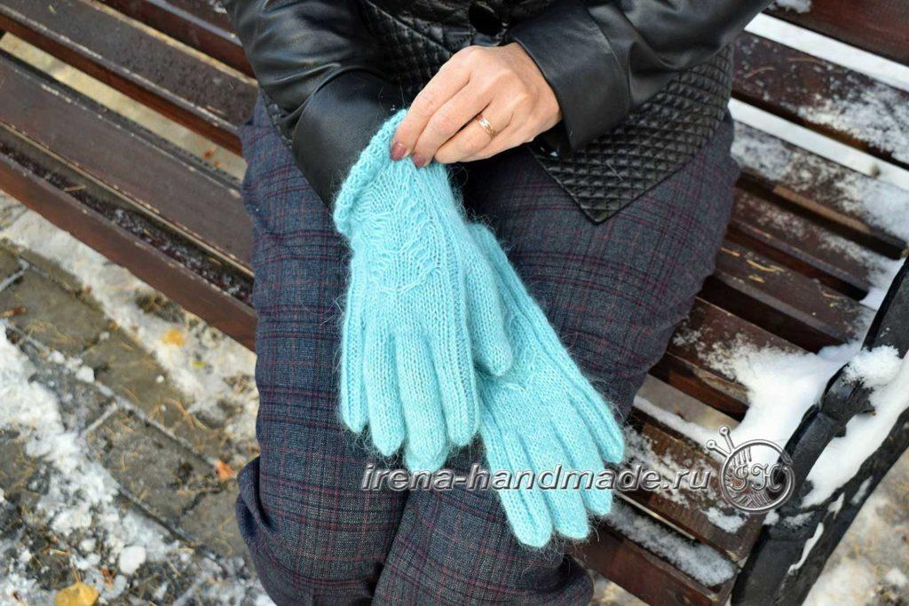 Как связать перчатки - проект
