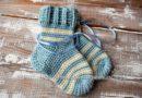 Детские носочки крючком - основное фото