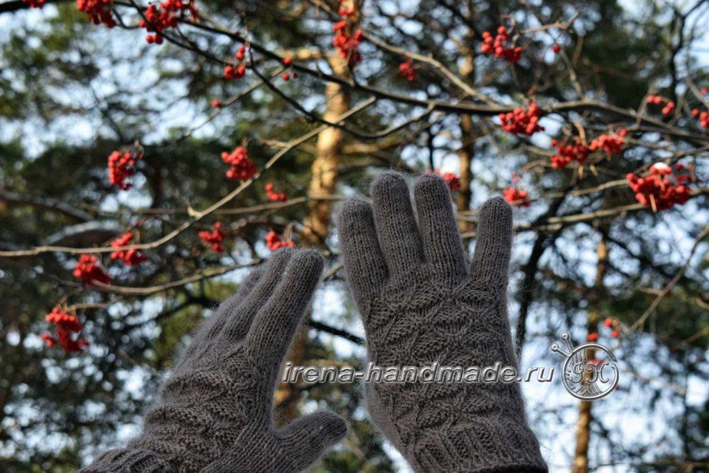 Мужские перчатки «Витторе» - итог