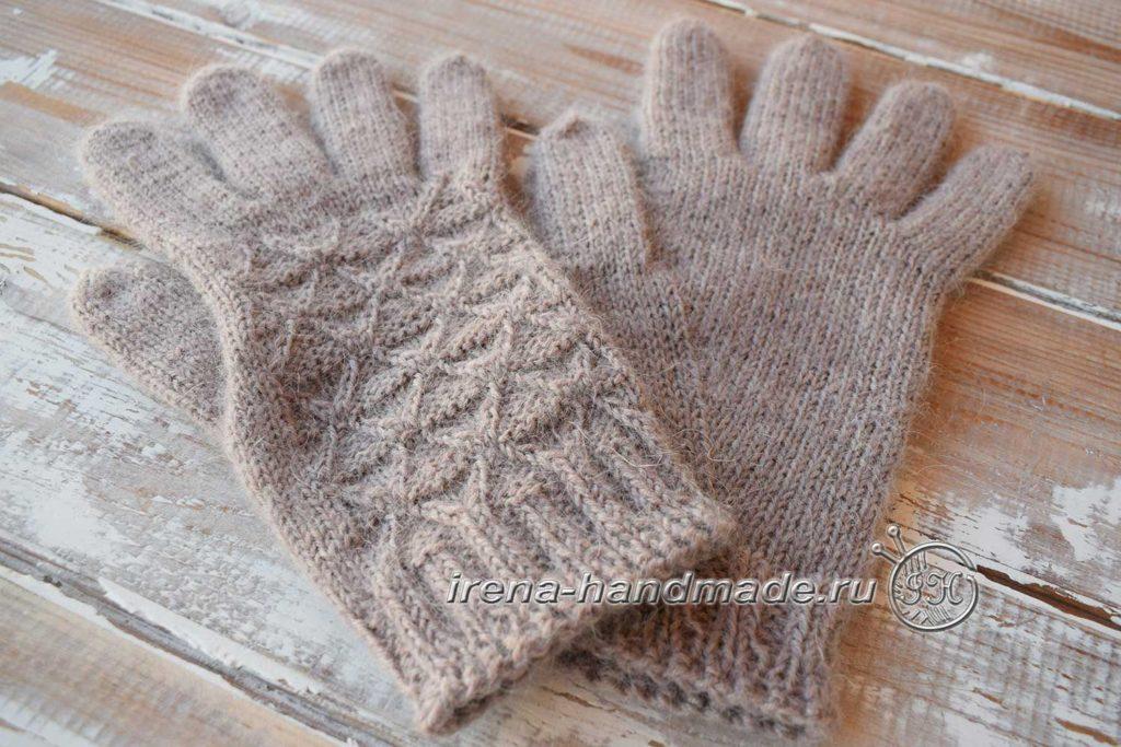 Мужские перчатки «Витторе» - клин левая