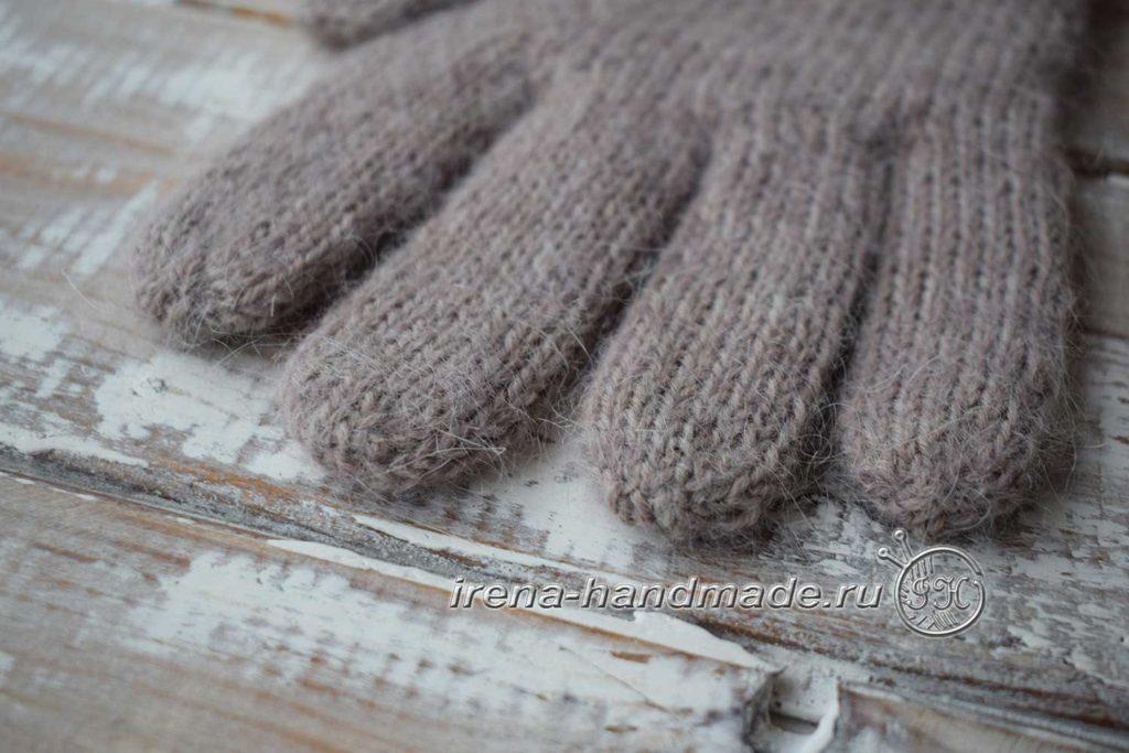 Мужские перчатки «Витторе» - маскировка нитей