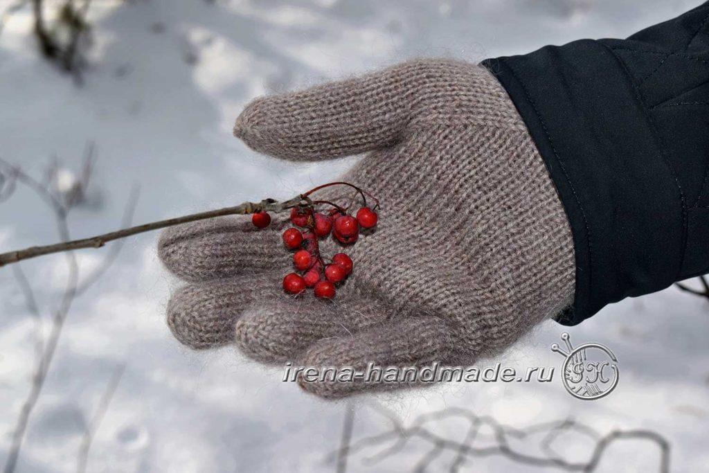 Мужские перчатки «Витторе» - клин правая