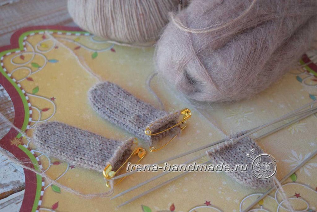Мужские перчатки «Витторе» - пальцы от мыска