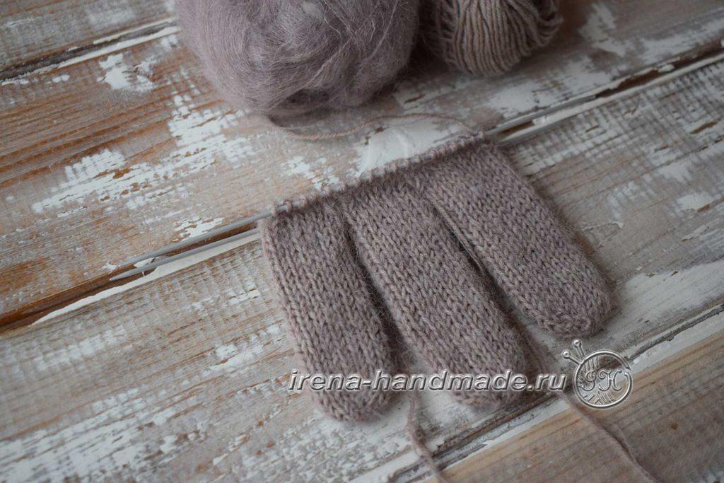 Мужские перчатки «Витторе» - три пальца