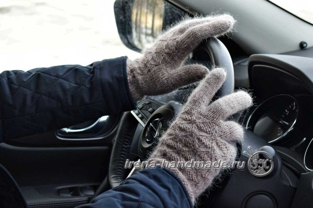 Мужские перчатки «Витторе» - в авто
