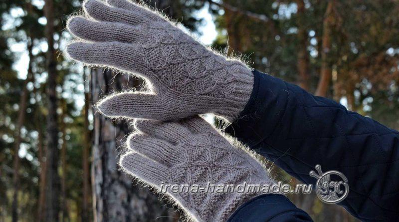 Мужские перчатки «Витторе» - в лесу