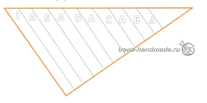 Бактус «Импровизация» - порядок узоров